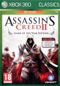 Assassin's Creed II: Game of the Year Edition Xbox 360 Front Cover