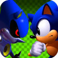 Sonic CD iPad Front Cover