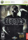 The Chronicles of Riddick: Assault on Dark Athena Xbox 360 Front Cover