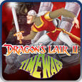 Dragon's Lair II: Time Warp PlayStation 3 Front Cover