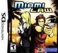 Miami Law Nintendo DS Front Cover