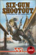 Six-Gun Shootout Apple II Front Cover