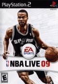 NBA Live 09 PlayStation 2 Front Cover