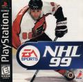 NHL 99 PlayStation Front Cover