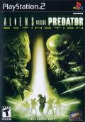 Aliens Versus Predator: Extinction PlayStation 2 Front Cover