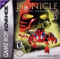 Bionicle: Matoran Adventures Game Boy Advance Front Cover