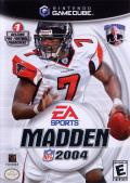 Madden NFL 2004 GameCube Front Cover