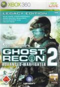 Tom Clancy's Ghost Recon: Advanced Warfighter 2 (Legacy Edition) Xbox 360 Front Cover