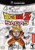 Dragon Ball Z: Sagas GameCube Front Cover