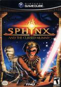 Sphinx and the Cursed Mummy GameCube Front Cover