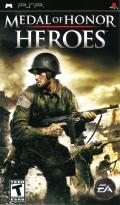 Medal of Honor: Heroes PSP Front Cover