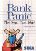 Bank Panic SEGA Master System Front Cover