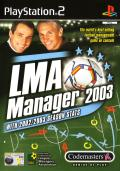 LMA Manager 2003 PlayStation 2 Front Cover