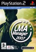LMA Manager 2007 PlayStation 2 Front Cover
