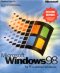 Microsoft Windows 98/98SE (included games) Windows Front Cover