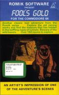 Fool's Gold Commodore 64 Front Cover