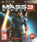 Mass Effect 3 PlayStation 3 Front Cover