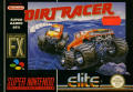 Dirt Racer SNES Front Cover