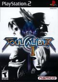 SoulCalibur II PlayStation 2 Front Cover