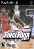 NCAA Final Four 2001 PlayStation 2 Front Cover