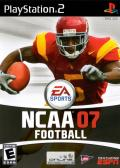 NCAA Football 07 PlayStation 2 Front Cover
