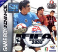 FIFA Soccer 2005 Game Boy Advance Front Cover