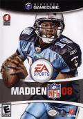 Madden NFL 08 GameCube Front Cover