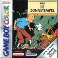 Tintin: Le Temple du Soleil Game Boy Color Front Cover