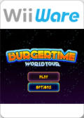 Burgertime: Worldtour Wii Front Cover