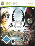 Sacred 2: Fallen Angel (Collector's Edition) Xbox 360 Front Cover