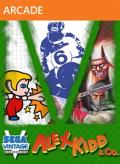 Sega Vintage Collection: Alex Kidd & Co. Xbox 360 Front Cover