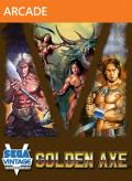 Sega Vintage Collection: Golden Axe Xbox 360 Front Cover
