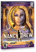 Nancy Drew: Tomb of the Lost Queen Macintosh Front Cover