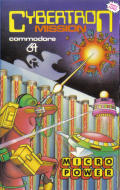 Cybertron Mission Commodore 64 Front Cover