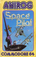Space Pilot Commodore 64 Front Cover