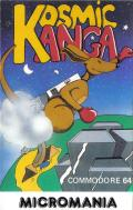 Kosmic Kanga Commodore 64 Front Cover