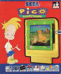 "Disney's The Lion King: ""Adventures at Pride Rock"" SEGA Pico Front Cover"