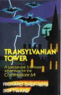 Transylvanian Tower Commodore 64 Front Cover