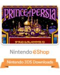Prince of Persia Nintendo 3DS Front Cover