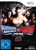 WWE Smackdown vs. Raw 2010 Wii Front Cover