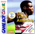 Carl Lewis Athletics 2000 Game Boy Color Front Cover