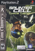 Tom Clancy's Splinter Cell: Chaos Theory PlayStation 2 Front Cover