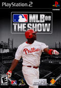 MLB 08: The Show PlayStation 2 Front Cover