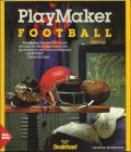 PlayMaker Football DOS Front Cover