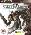 Warhammer 40,000: Space Marine PlayStation 3 Front Cover