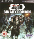 Binary Domain PlayStation 3 Front Cover
