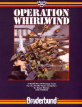 Operation Whirlwind Atari 8-bit Front Cover