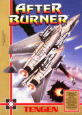After Burner NES Front Cover