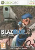 BlazBlue: Calamity Trigger Xbox 360 Front Cover