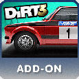 DiRT 3: Colin McRae Vision Charity Pack PlayStation 3 Front Cover